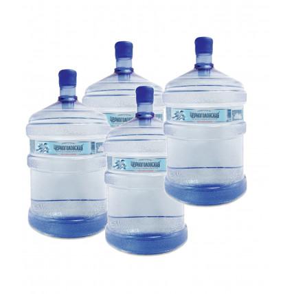 Комплект воды Черноголовская 19л (4шт)